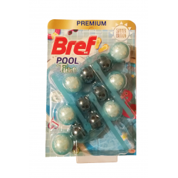 BREF POOL TIME - TURQUOISE WATER 3x50G