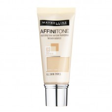 MAYBELLINE - AFFINITONE 03 LIGHT SAND BEIGE TEKUTÝ MAKE-UP 30ML