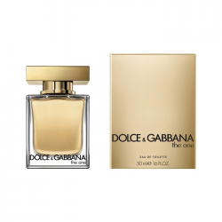 DOLCE & GABBANA THE ONE FOR HER - TOALETNÁ VODA 50ML
