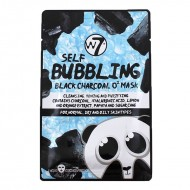 W7 SELF BUBBLING BLACK CHARCOAL O2 MASK - BUBLINKOVÁ MASKA NA TVÁR