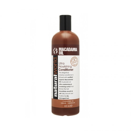 NATURAL WORLD - MACADAMIA OIL KONDICIONÉR NA VLASY 500ML