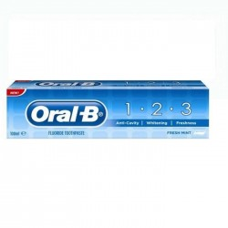 ORAL-B 1-2-3 SALT POWER WHITE - ZUBNÁ PASTA 100ML