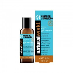 NATURAL WORLD - ARGAN OIL OF MOROCCO OLEJ NA VLASY 100ML