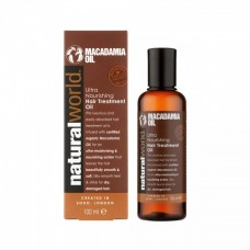 NATURAL WORLD - MACADAMIA OIL OLEJ NA VLASY 100ML