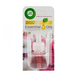 AIR WICK ESSENTIAL OILS - JEMNÝ SATÉN A MES. ĽALIA TEK. NÁPLŇ DO EL. PR. 19ML
