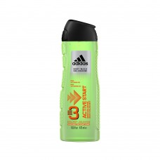 ADIDAS 3 IN 1 ACTIVE START - SPRCHOVACÍ GÉL 400ML
