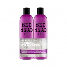 TIGI - THERAPY FOR BLONDES ŠAMPÓN 750ML A KONDICIONÉR 750ML PRE BLOND VLASY