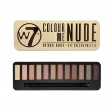 W7 IN THE NUDE NATURAL NUDES - PALETA OČNÝCH TIEŇOV