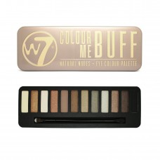 W7 IN THE BUFF NATURAL NUDES - PALETA OČNÝCH TIEŇOV