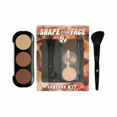 W7 SHAPE YOUR FACE CONTOUR KIT - DARČEKOVÁ SADA