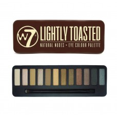 W7 LIGHTLY TOASTED NATURAL NUDES - PALETA OČNÝCH TIEŇOV